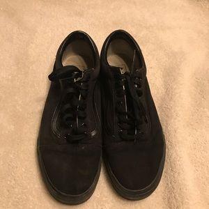 Vans canvas skate shoes size 10